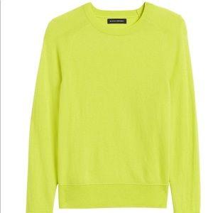 NWT - Italian Merino-Blend Crew Neck Sweater